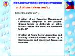 organizational restructuring18