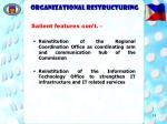 organizational restructuring19