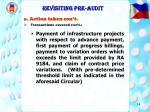 revisiting pre audit14