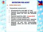 revisiting pre audit15