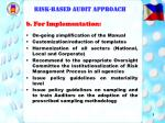 risk based audit approach8