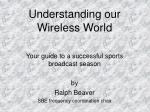 understanding our wireless world