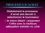 processus d achat19