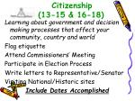 citizenship 13 15 16 18