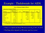 example thalidomide for aids29