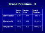 brand premium 2