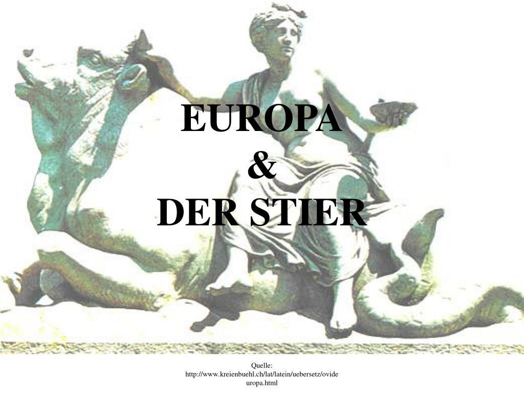 europa der stier l.