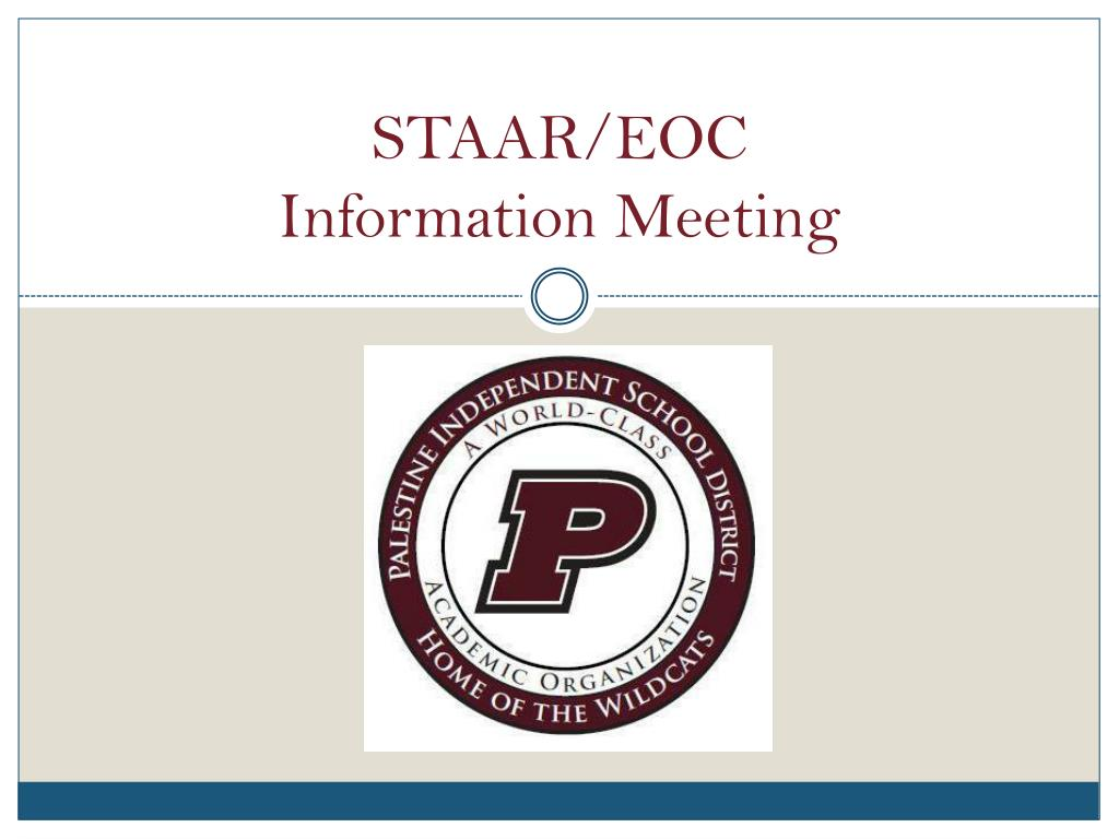 staar eoc information meeting l.