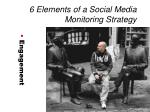 6 elements of a social media monitoring strategy7