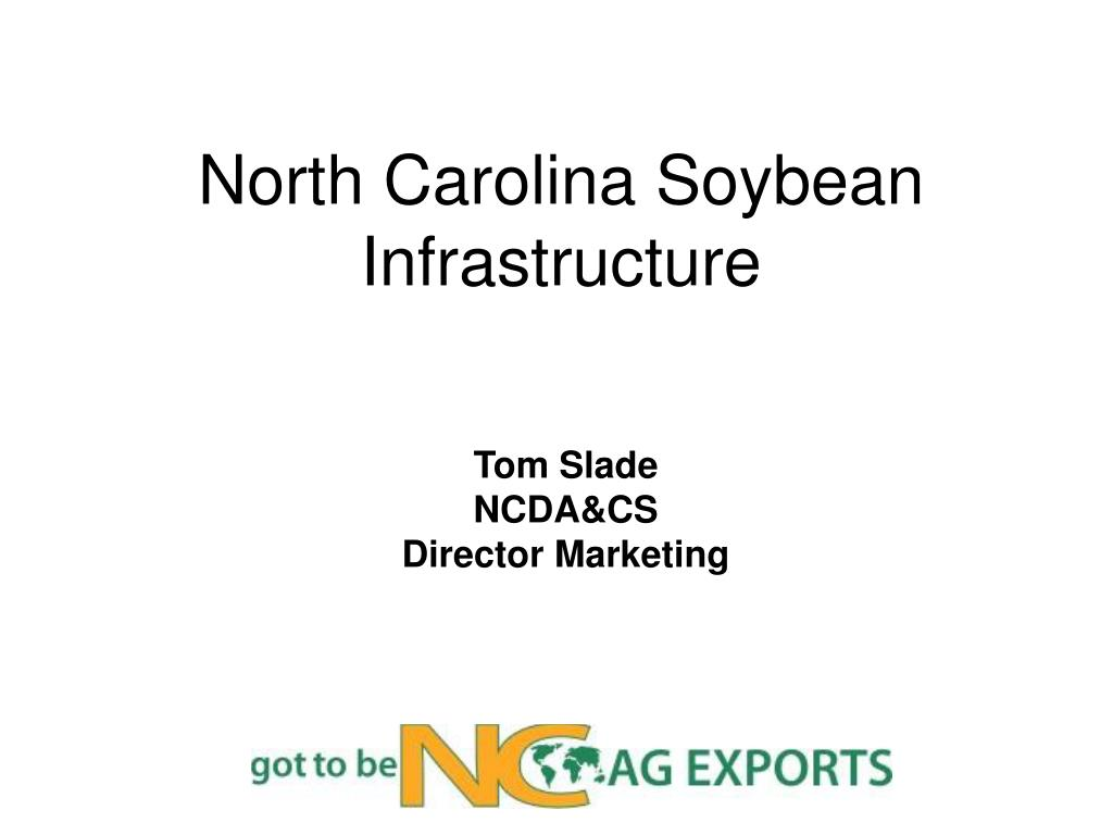 north carolina soybean infrastructure l.