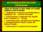 as consequ ncias das cruzadas