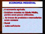 economia medieval