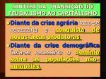 s ntese da transi o do feudalismo ao capitalismo
