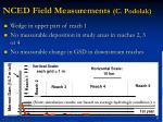 nced field measurements c podolak