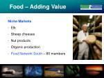 food adding value