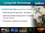 living cell technology