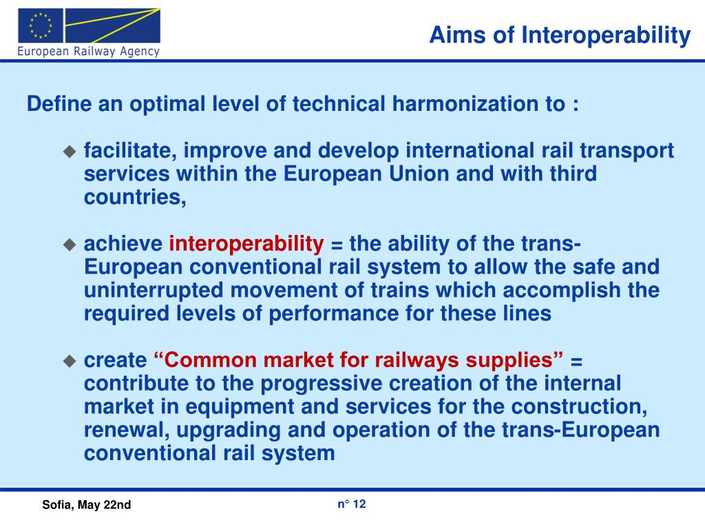 Aims of Interoperability