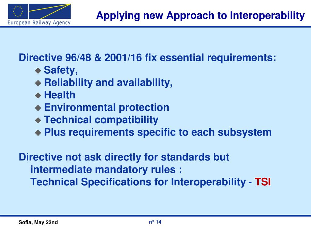 Applying new Approach to Interoperability