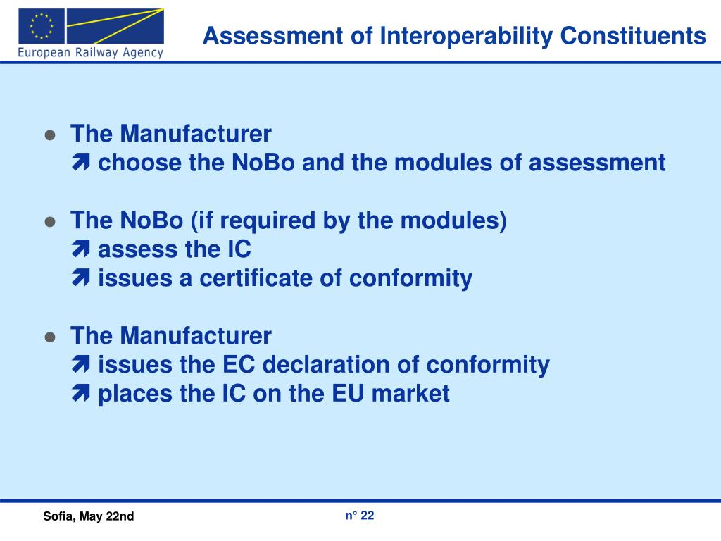 Assessment of Interoperability Constituents