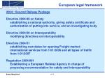 european legal framework6