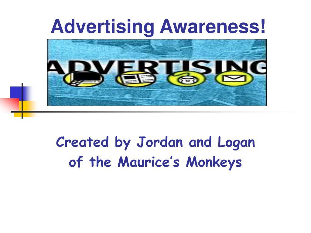 advertising awareness l.