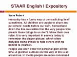 staar english i expository7