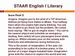 staar english i literary11