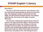 staar english i literary13