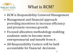 what is rcm