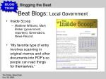 beat blogs local government