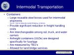 intermodal transportation29