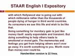 staar english i expository19