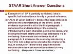 staar short answer questions34