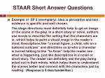 staar short answer questions37