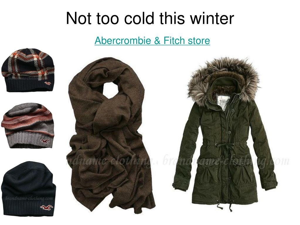 not too cold this winter abercrombie fitch store l.