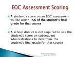 eoc assessment scoring46