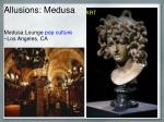 allusions medusa13