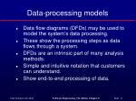 data processing models