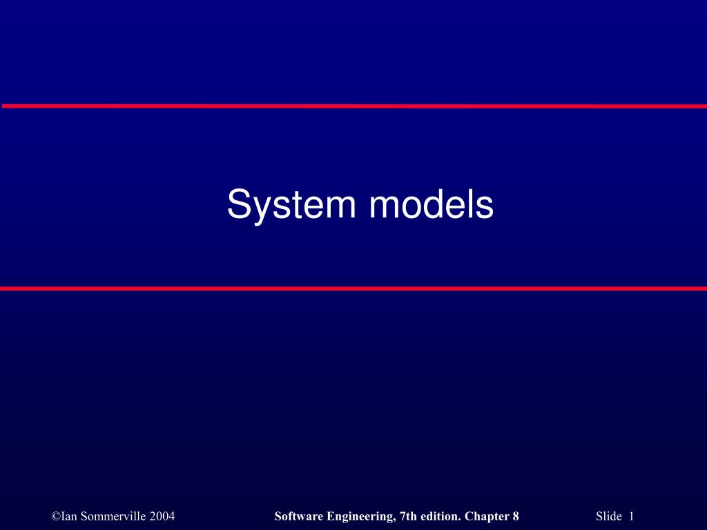 system models l.