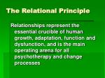 the relational principle