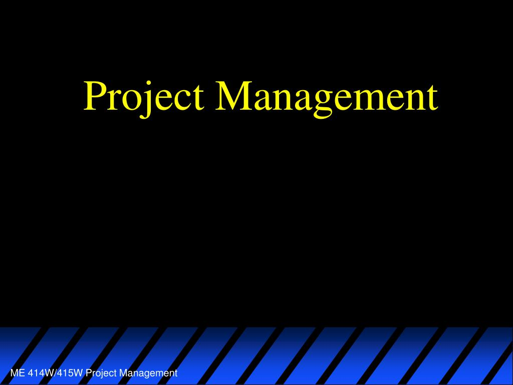 project management l.