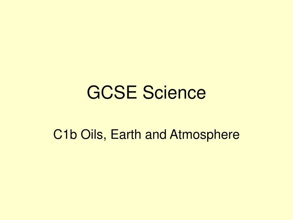 gcse science l.