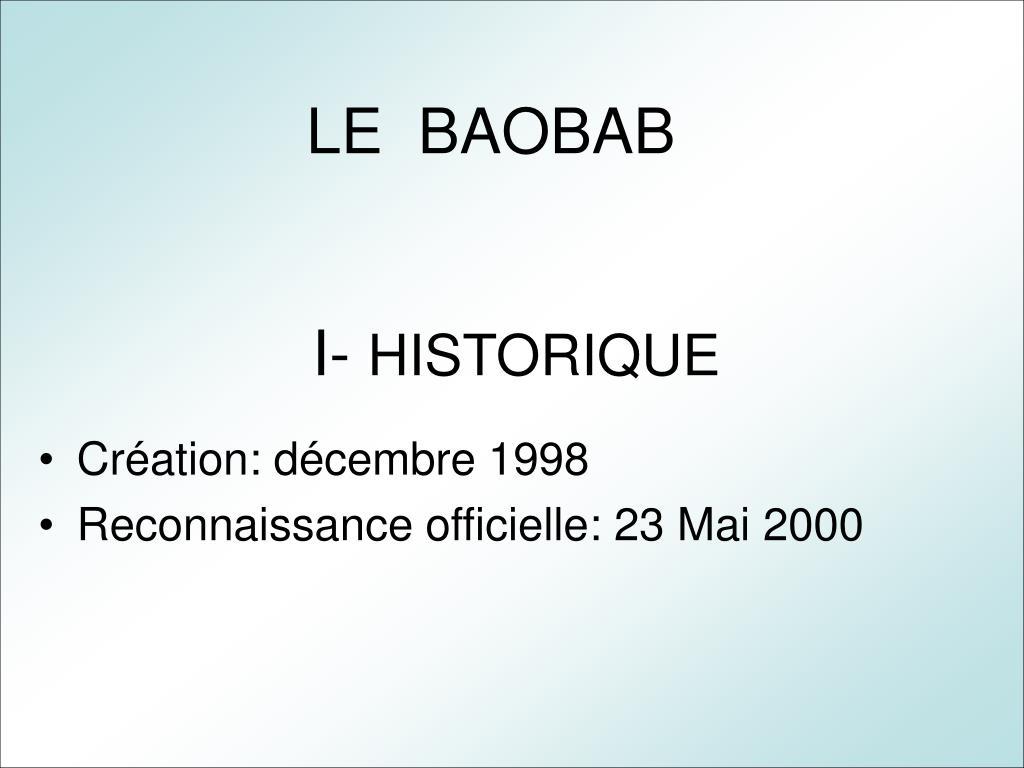 le baobab l.
