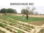 maraichage bio