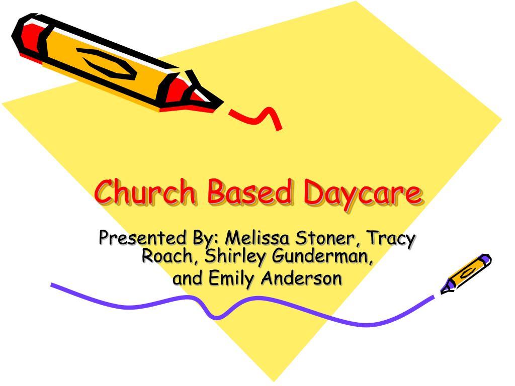 church based daycare l.