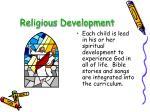 religious development