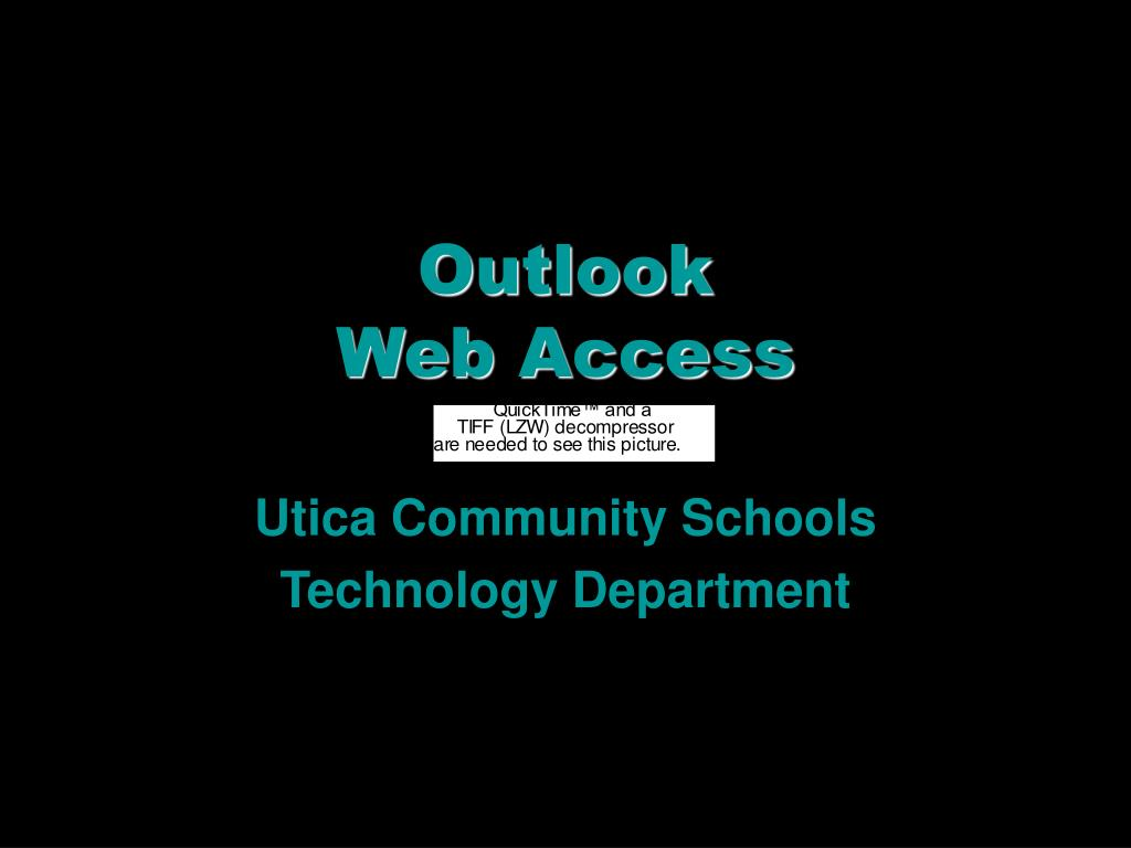 outlook web access l.