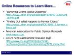 online resources to learn more