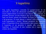 il logaritmo