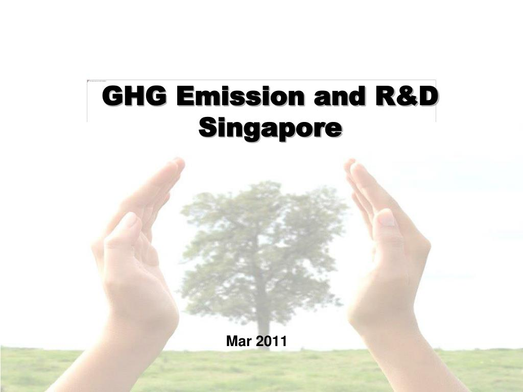 ghg emission and r d singapore l.